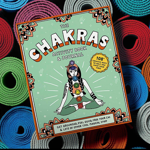 Chakras Activity Book