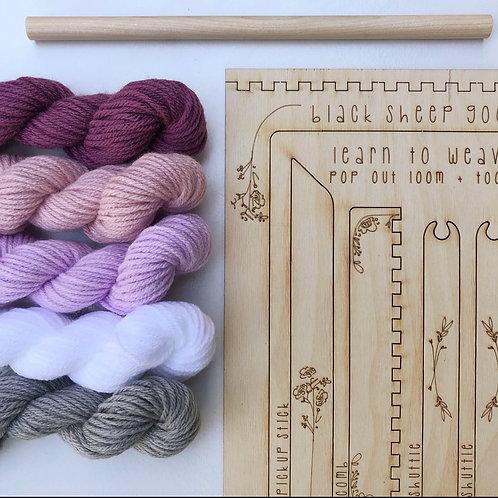 DIY Tapestry Weaving Kit - Orchid