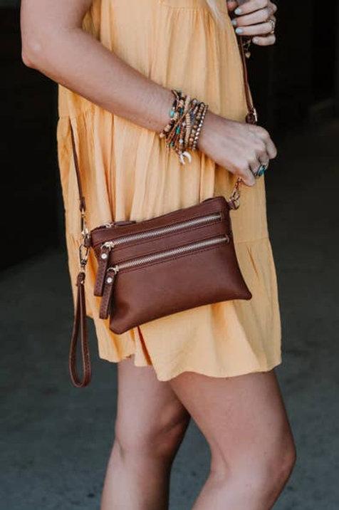 Sandstone Crossbody Bag
