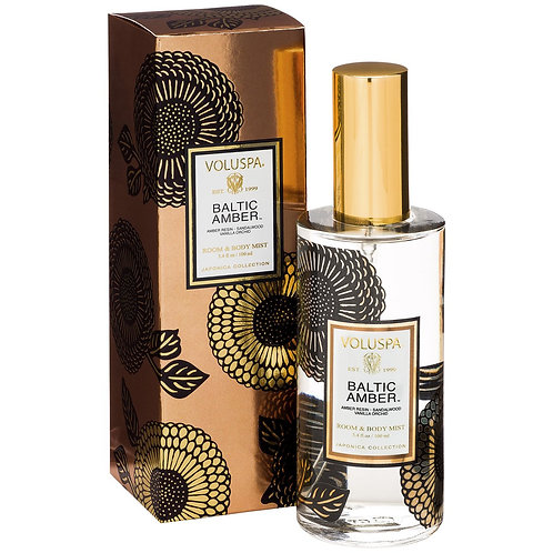 Baltic Amber Room and Body Spray