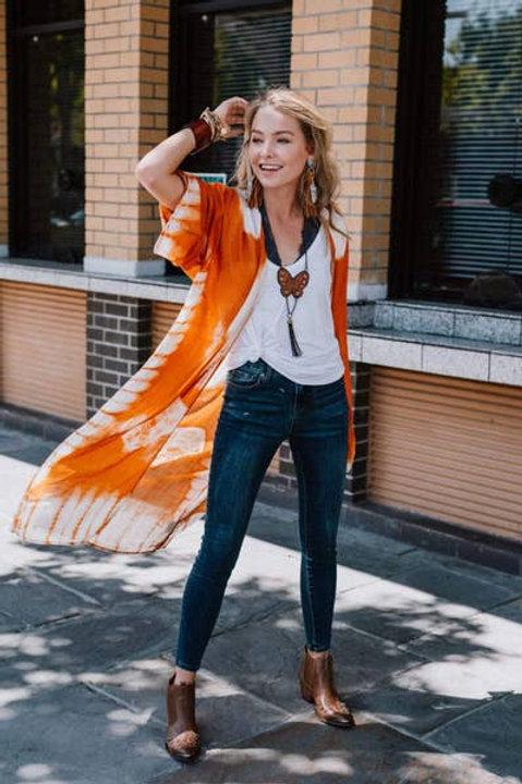 Spellbound Boho Tie Dye Kimono