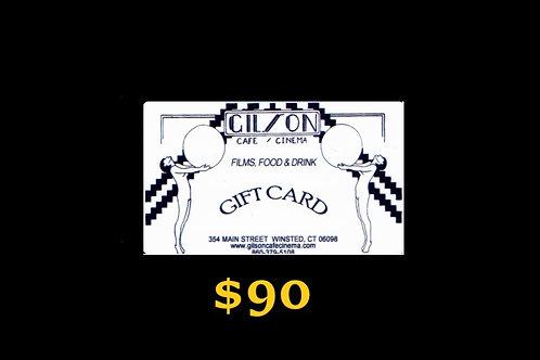 Gift Card $90