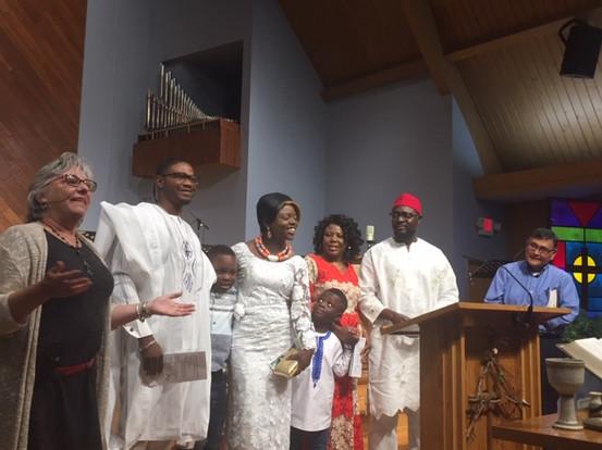 Pastors, Kayodes & George, Lily & McLean