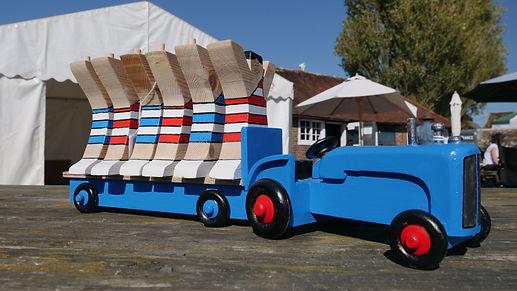 Wooden Blue Toy Tractor & Figures.jpg
