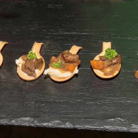 Autumn/Winter - Game Tasting - Venison Stew Tasters