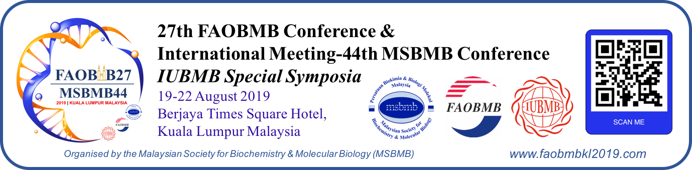27th FAOBMB Conference|Kuala Lumpur 2019|faobmbkl2019