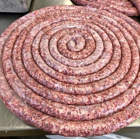 Autumn/Winter - Venison Sausage Wheel