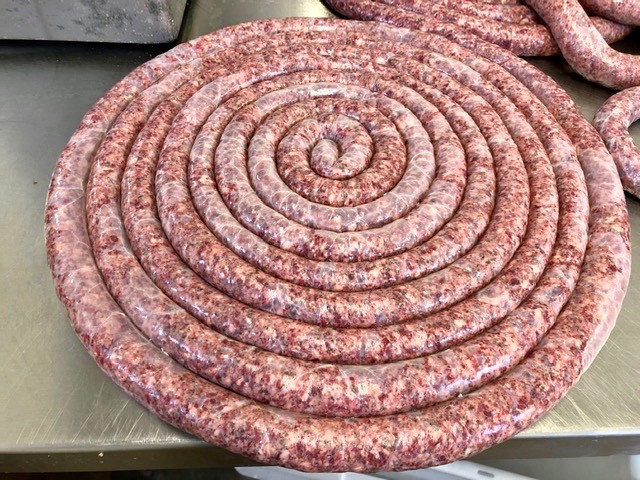 Autumn/Winter - Venison Sausage Wheel
