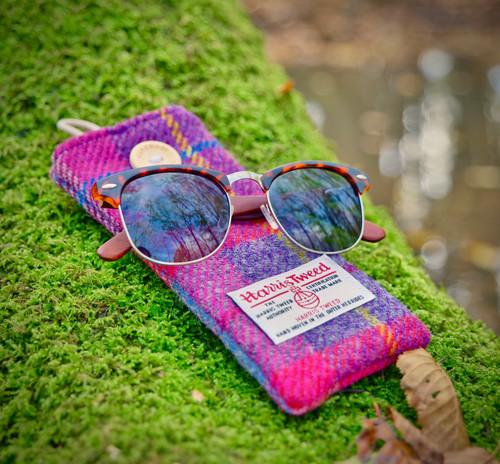 Abalone Seashell Sunglasses & Harris Twe