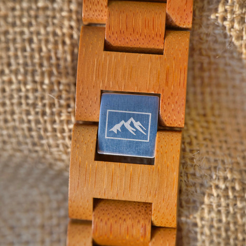 NALU Small Natural Bamboo Watch - Bamboo Strap - JWUK Sept 2021