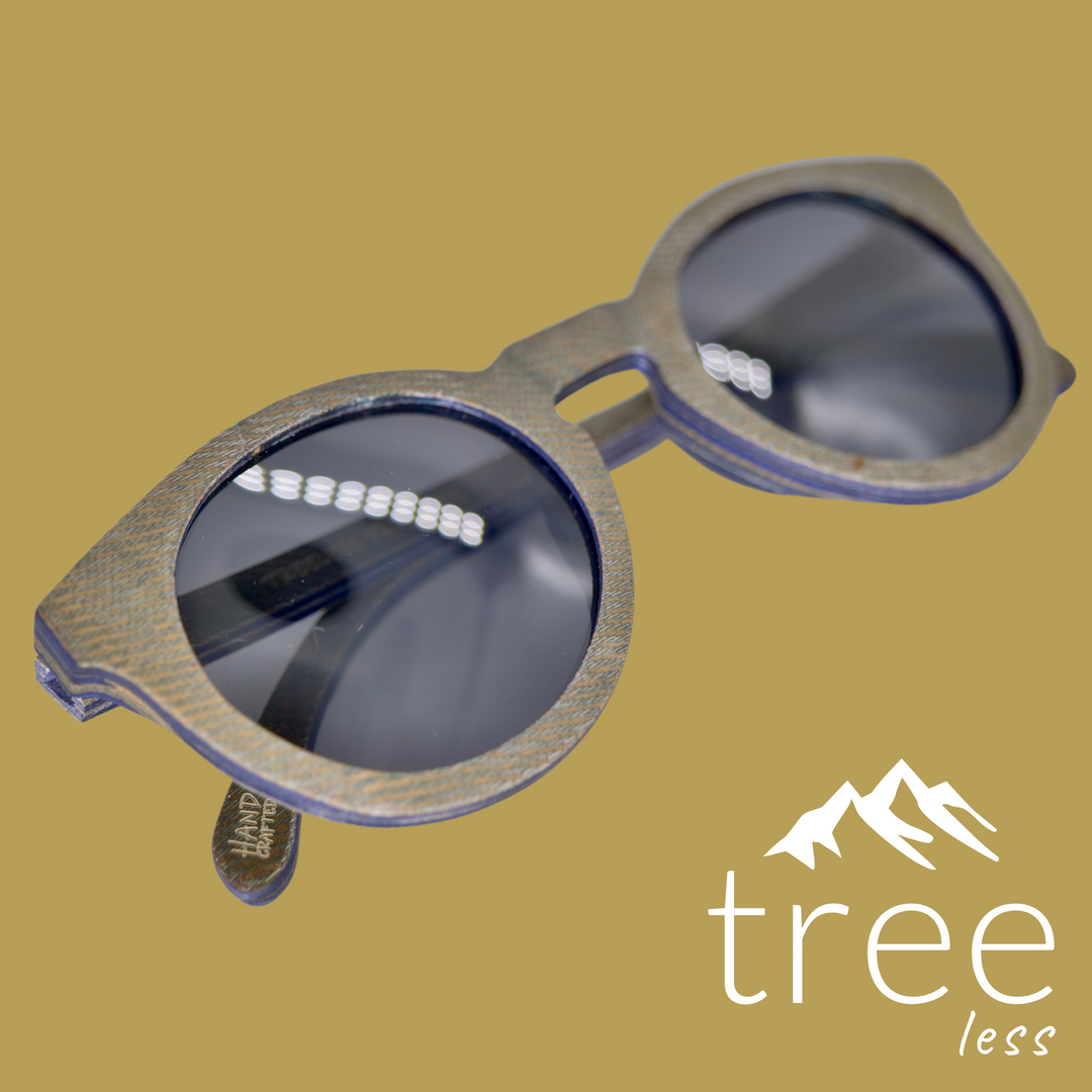Rivington Recycled Denim - Sunglasses -
