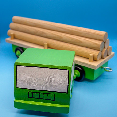 Articulated Timber Lorry