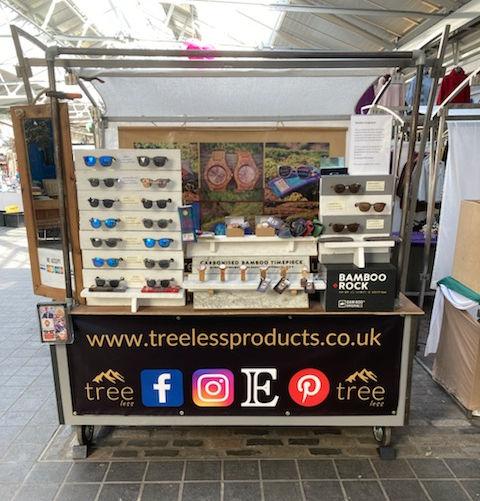 TreLees Products Greenwich Market Stal London