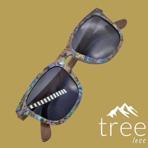 Abalone Sea Shell - sunglasses - Ebony A