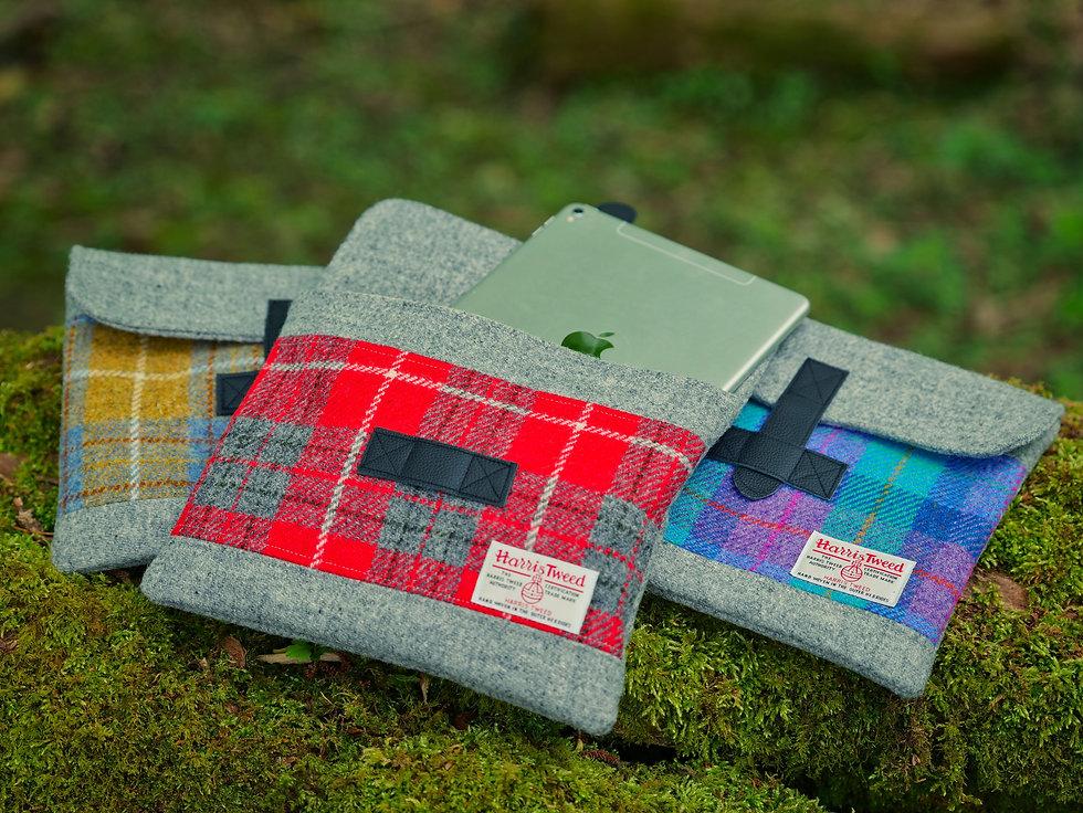 TreeLess Handcrafted Harris Tweed iPad Case