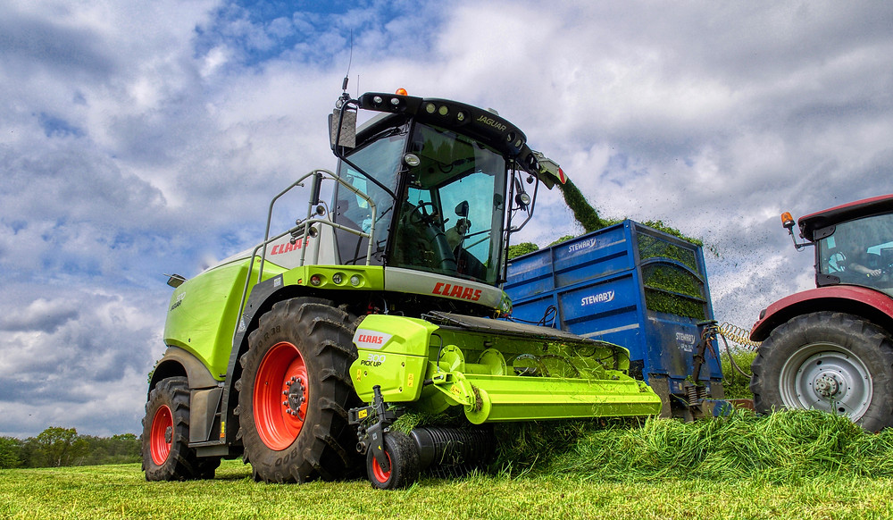 Claas 970 Forage Harvester
