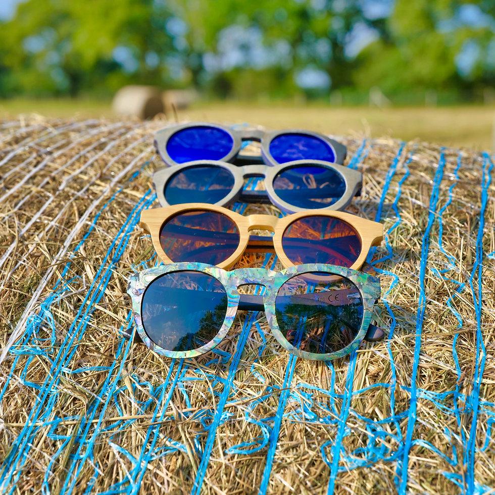 Rivington Natural Polarised Sunglasses by Treeless Products UK