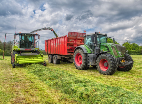 Spring heralds first cut silage for dairy farmers!