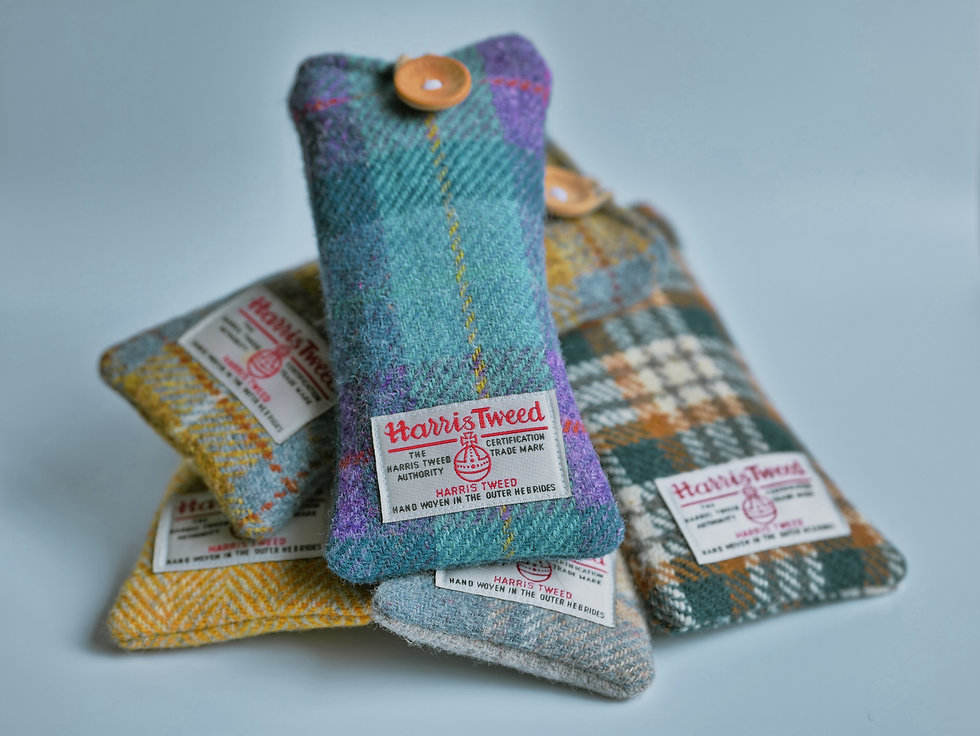 Genuine Harris Tweed Sunglasses Pouches by Treeless Products UK