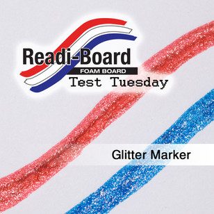 Test Tuesday: Glitter Markers