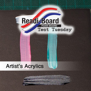 Test Tuesday: Artist's Acrylics