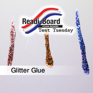 Test Tuesday: Glitter Glue