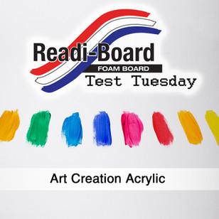 Test Tuesday: Art Creation Acrylics