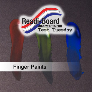 Test Tuesday: Finger Paints