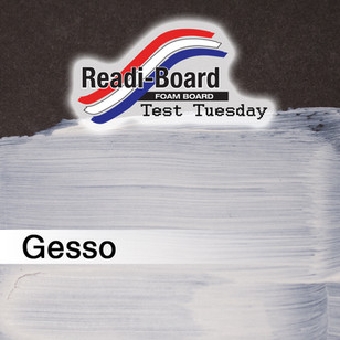 Test Tuesday: Gesso