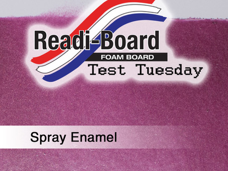 Test Tuesday: Spray Enamel