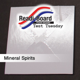 Test Tuesday: Mineral Spirits