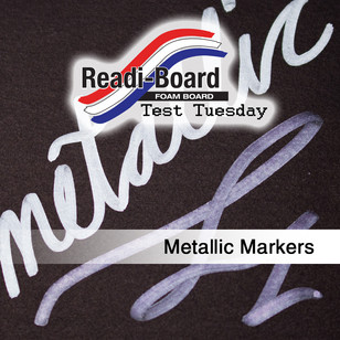 Test Tuesday: Metallic Markers