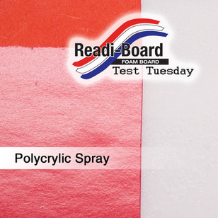 Test Tuesday: Polycrylic Spray