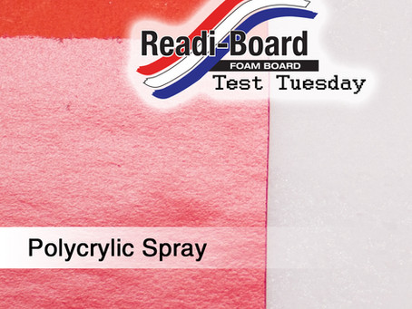 Test Tuesday: Polycrylic Spray