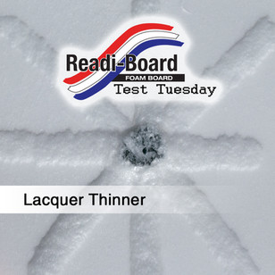 Test Tuesday: Lacquer Thinner