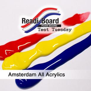 Test Tuesday: Amsterdam Acrylics