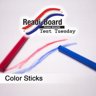 Test Tuesday: Crayola Color Sticks