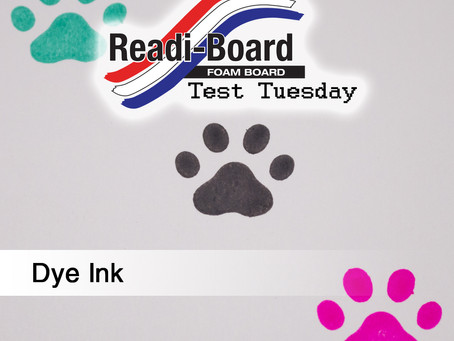 Test Tuesday: Dye Ink