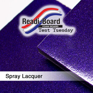 Test Tuesday: Spray Lacquer