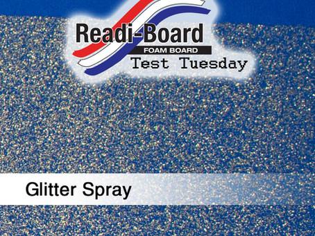 Test Tuesday: Glitter Spray