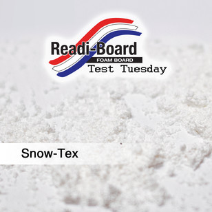 Test Tuesday: Snow-Tex