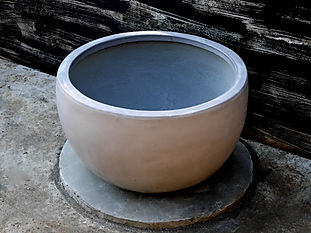 Lotus Middle Bowl Cement Planter 2.jpg