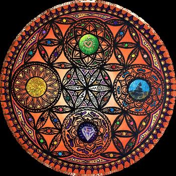 """Best Wishes Mandala"""