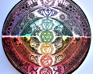 """Chakras Mandala"""