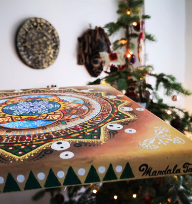 Merry Christmas Mandala