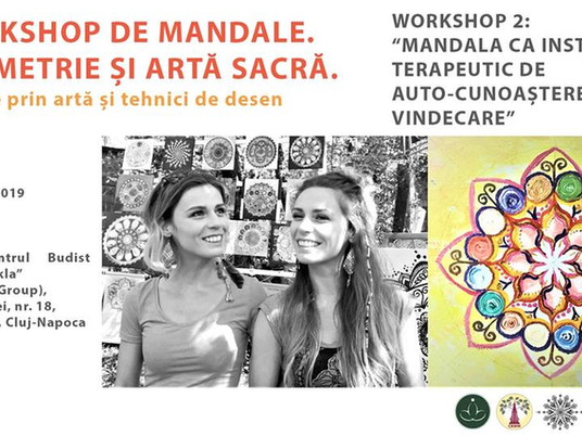 Workshop 2: Mandala as a Therapeutic Instrument for Self-knowledge and Healing!