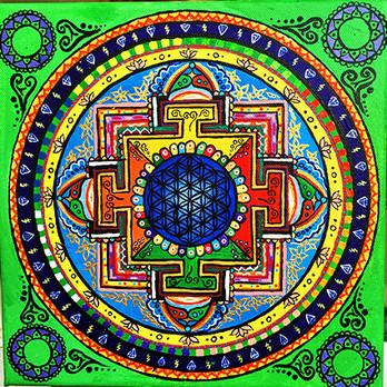 """""""Buddhist Mandala"""""""