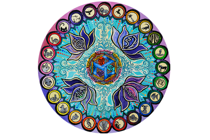 """Healing Mandala for Animals"""