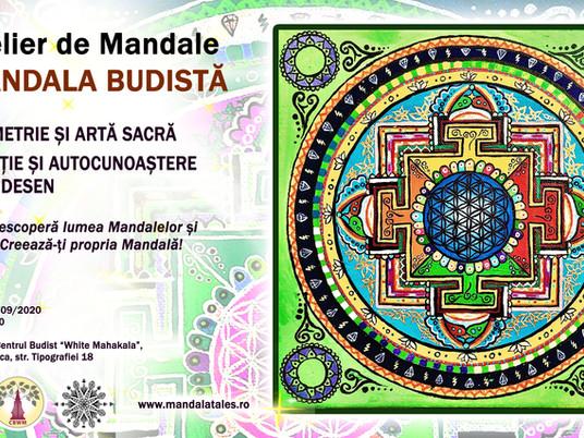 Mandala Workshop. Buddhist Mandala - Art and Sacred Geometry