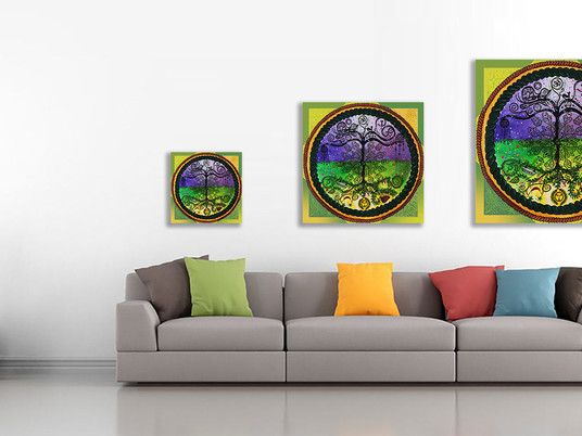 New!! Canvas prints in different sizes!